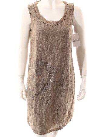 Luisa Cerano Etuikleid graugrün-silberfarben Motivdruck Casual-Look