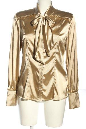 Luisa Cerano Glanzende blouse wolwit casual uitstraling