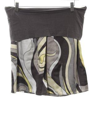 Luisa Cerano Glockenrock abstraktes Muster Casual-Look