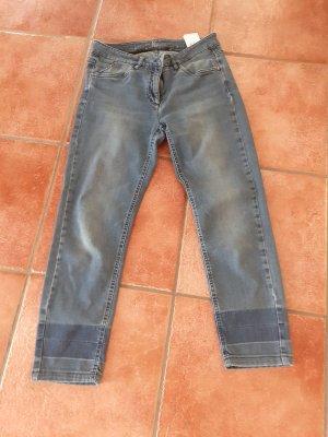 Luisa Cerano 3/4 Length Jeans blue