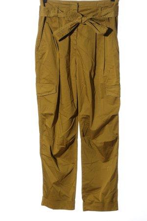 Luisa Cerano Harem Pants brown casual look