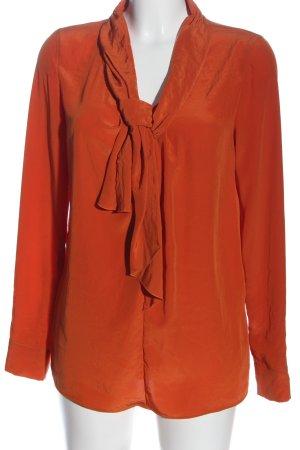 Luisa Cerano Camicia blusa arancione chiaro stile casual