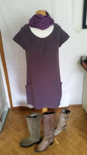 Luisa Cerano Woolen Dress grey violet