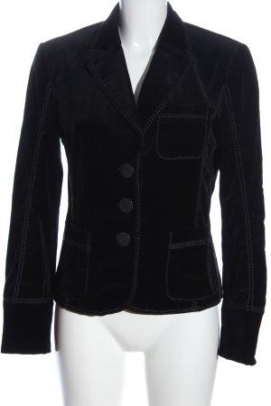 Luisa Cerano Korte blazer zwart casual uitstraling