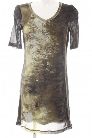 Luisa Cerano Shortsleeve Dress abstract print casual look