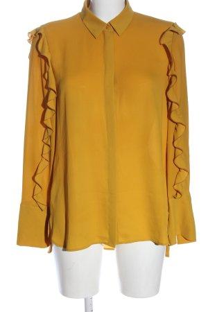 Luisa Cerano Camicia a maniche lunghe giallo pallido stile professionale
