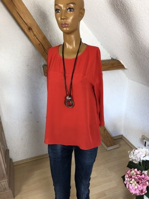 Luisa Cerano Oversized Blouse red