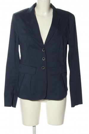 Luisa Cerano Lange blazer blauw zakelijke stijl