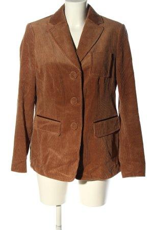 Luisa Cerano Lange blazer bruin casual uitstraling
