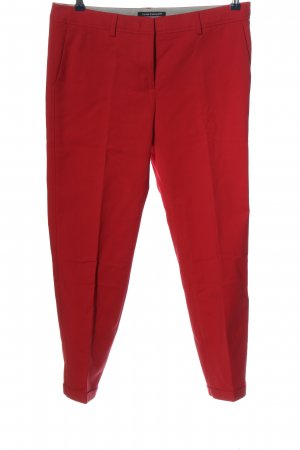 Luisa Cerano Pantalon Marlene rouge élégant