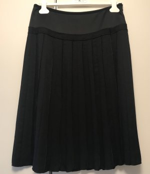 Luisa Cerano Pleated Skirt black