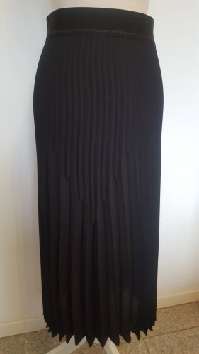 Luisa Cerano Plisowana spódnica czarny