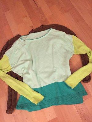 Luisa Cerano Oversized Sweater multicolored