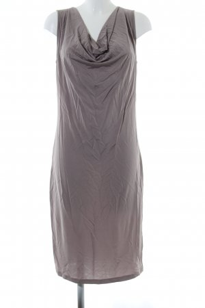 Luisa Cerano Robe tube gris clair style décontracté