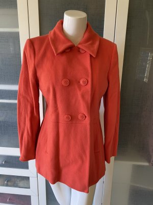 Luisa Cerano Pea Jacket orange