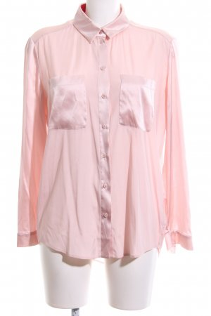 Luisa Cerano Seidenbluse pink Business-Look