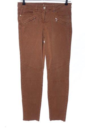 Luisa Cerano Skinny Jeans braun Casual-Look