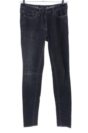 Luisa Cerano Slim jeans zwart casual uitstraling