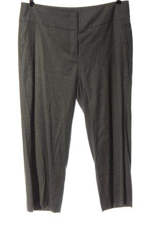 Luisa Cerano Pantalone jersey grigio chiaro puntinato stile professionale