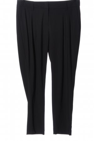 Luisa Cerano Pantalone jersey nero stile professionale