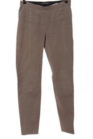 Luisa Cerano Pantalone elasticizzato marrone stile casual