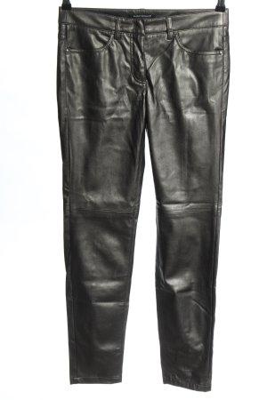 Luisa Cerano Stretchhose schwarz extravaganter Stil