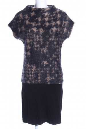 Luisa Cerano Knitted Dress black-natural white abstract pattern casual look