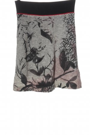 Luisa Cerano Knitted Skirt allover print casual look