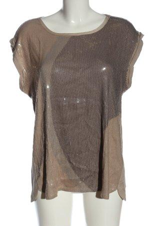 Luisa Cerano U-Boot-Shirt braun Casual-Look