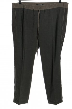 Luisa Cerano Woolen Trousers light grey-green casual look