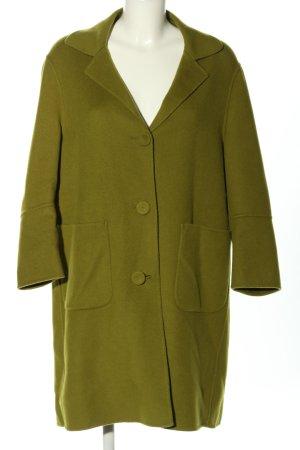 Luisa Cerano Manteau en laine vert style décontracté