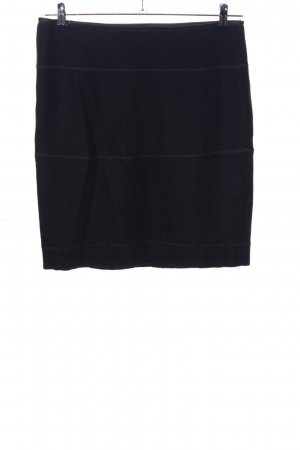 Luisa Cerano Wool Skirt black casual look
