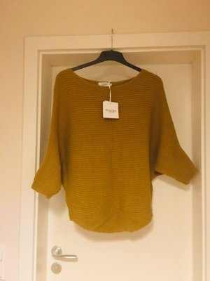 Luisa Ricci Knitted Poncho sand brown-camel