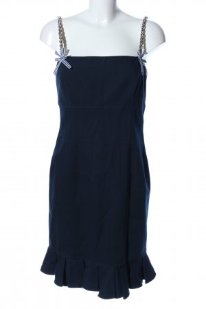 Luisa Spagnoli Corsage Dress blue extravagant style