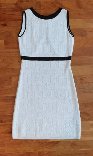 Luisa Spagnoli Knitted Dress white-black