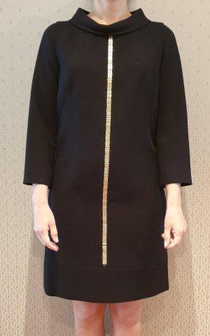 Luisa Spagnoli Vestido de lana negro