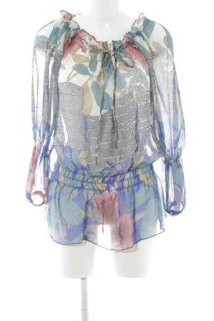 Lulu H Langarm-Bluse mehrfarbig Casual-Look
