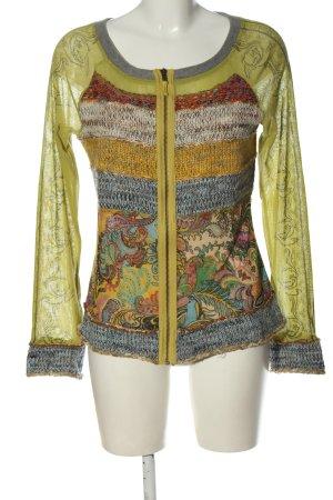 Lulu H. Paris Giacca-camicia motivo astratto elegante