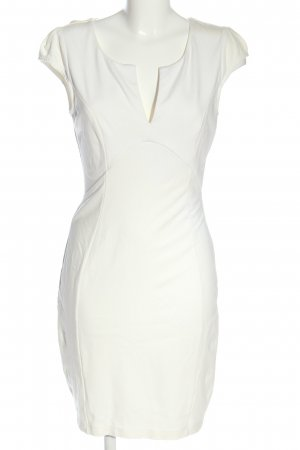 LuLu's Kurzarmkleid weiß Elegant