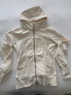 Lululemon athletica Kurtka dresowa w kolorze białej wełny