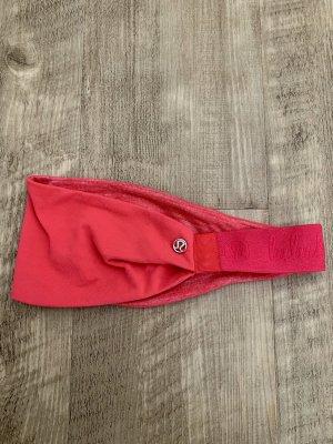 Lululemon athletica Bandeau cheveux rouge clair-rouge