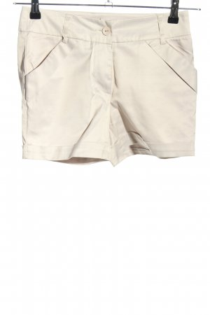 LULUMARY Hot Pants wollweiß Casual-Look