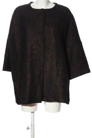 Lumina Veste oversize brun style mouillé