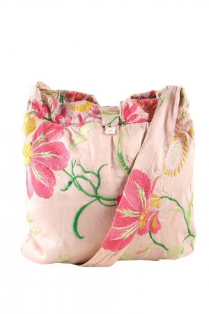 Stofftasche Blumenmuster Casual-Look