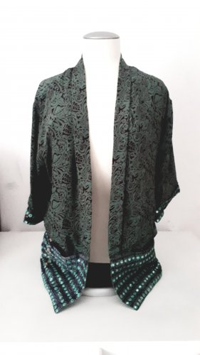 Luna Kimono Blouse grass green-olive green