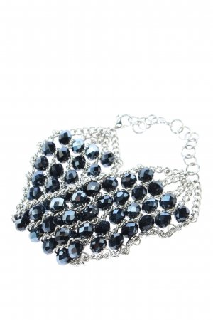 Luna Pearl Bracelet black-silver-colored elegant
