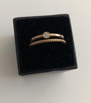 Luna Ring, Roségold, Gr. 54