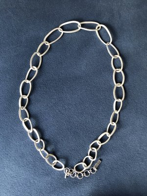 Lunamor Zilveren ketting lichtgrijs Metaal