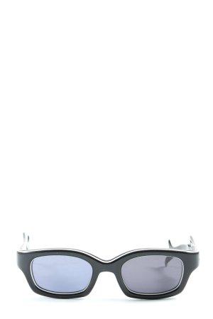 Lunettes eckige Sonnenbrille