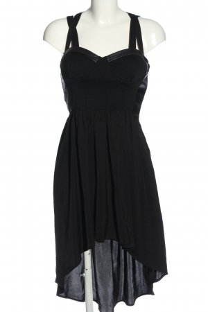 Lush High Low Dress black elegant